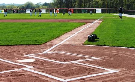 Park Arthur regulation baseball field