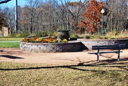 Veterans Memorial Park Fountain